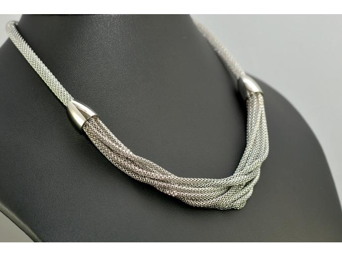 S1144 Dámský náhrdelník z chirurgické oceli 44cm