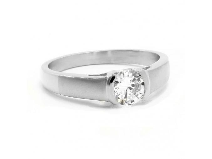 S2763 Krásný prsten s krystalkem