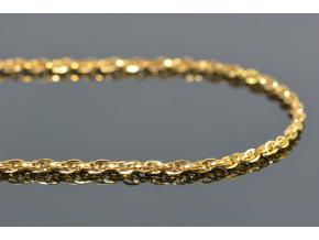 S2104 Řetízek z chirurgické oceli GOLD 45/0,4 cm