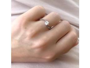 S2625 Krásný prsten s kamínkem