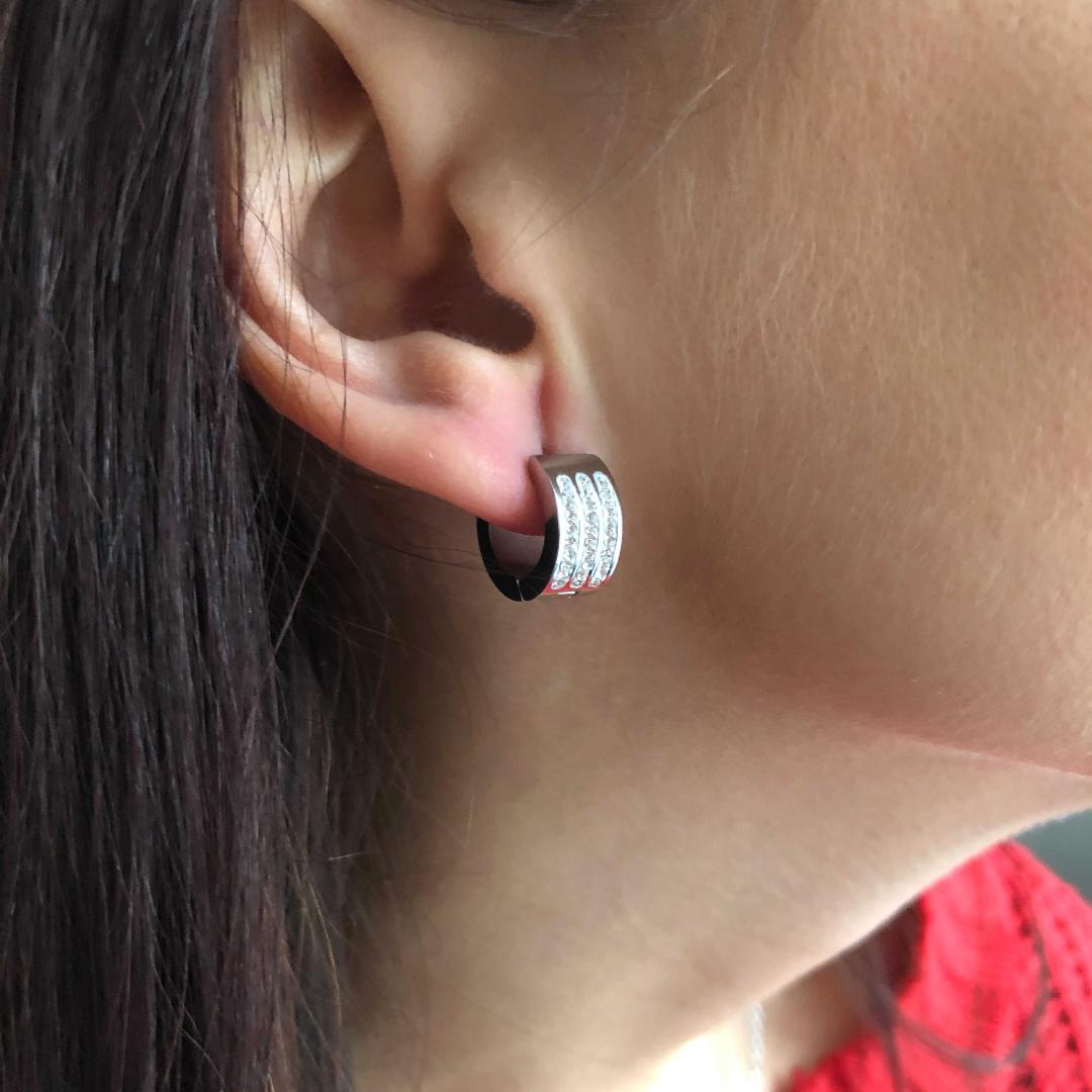 S2593 Sada šperků z chirurgické oceli Kroužky