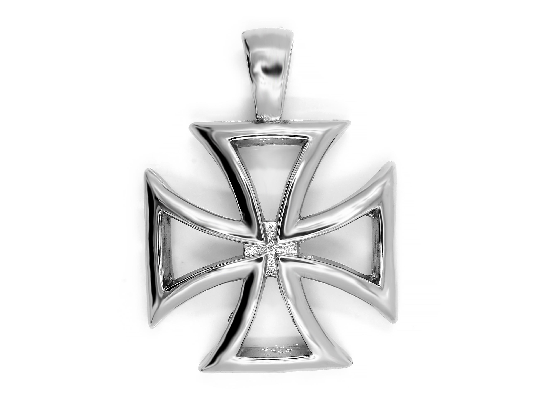 S2615 Ocelový kříž obrys